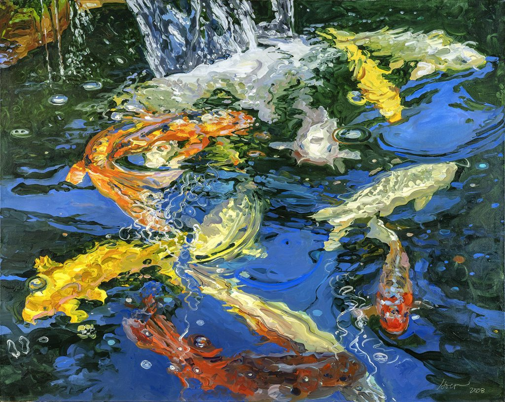 Koi_with_Waterfall_No_5-60x48-forWeb