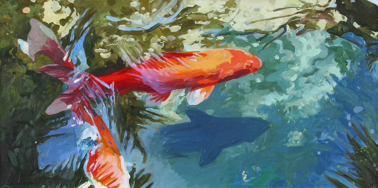 Koi Fish Paintings Koi Paintings Nature Paintings Koi